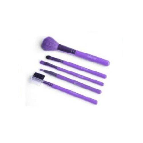 IDC Design Make Up Brushes 5pcs Πινέλα Μακιγιάζ Μωβ 5τεμ 65gr