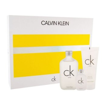 Calvin Klein Ck One Unisex Giftset Άρωμα EDT 100ml Άρωμα EDT 15ml Body Wash 100ml & Extra Spray
