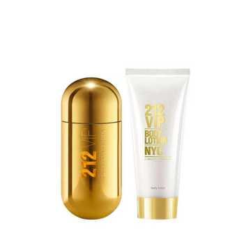 Carolina Herrera VIP 212 Women's Giftset Άρωμα EDP 80ml Body Lotion 200ml
