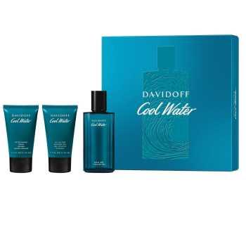 Davidoff Cool Water Men's Giftset Άρωμα EDT 75ml Αφρόλουτρο 50ml After Shave Balm 50ml