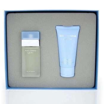 Dolce & Gabbana Light Blue Women's Giftset Άρωμα EDT 25ml Body Cream 50ml
