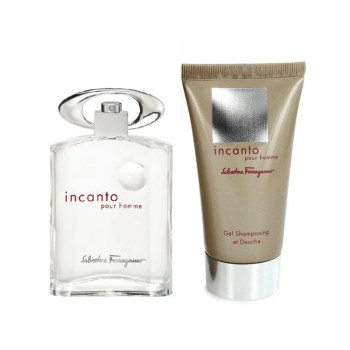 Salvatore Ferragamo Incanto Men's Giftset Άρωμα EDT 50ml Σαμπουάν-Αφρόλουτρο 50ml