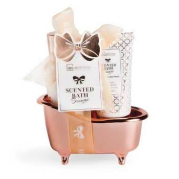 IDC Scented Bath Small Giftset Shower Gel 100ml Body Lotion 50ml Gold