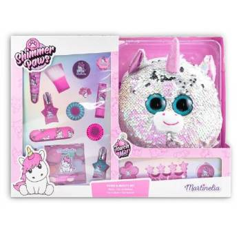 Martinelia Unicorn Shimmer Paws Purse & Beauty Set 37 x 27 x 9 cm