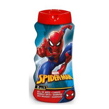 Lorenay 2 σε 1 Παιδικό Αφρόλουτρο & Σαμπουάν Spiderman 475ml