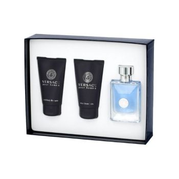 Versace Bright Crystal Σετ Δώρου Γυναικείο Άρωμα 50ml EDT Spray + Shower Gel 50ml+ Body Lotion 50ml