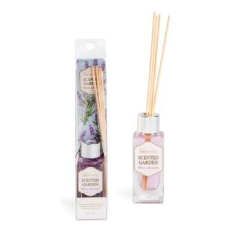 IDC Scented Garden Warm Lavender Fragrance 40ml & Diffuser & sticks Αρωματικό χώρου & Sticks