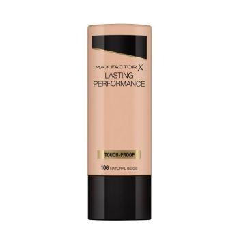 Max Factor Lasting Performance Liquid Make up Foundation 35ml No 106 Natural Beige