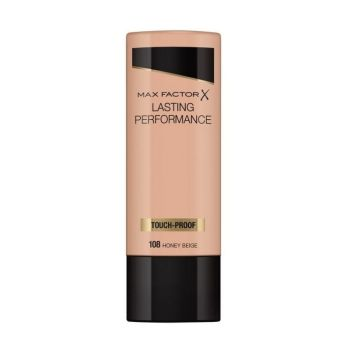 Max Factor Lasting Performance Liquid Make up Foundation 35ml No 108 Honey Beige