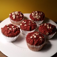 Ginger Beet Muffins