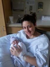 me and cadence newborn