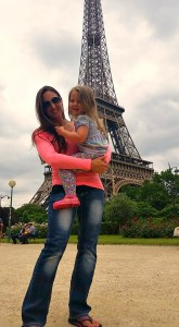 me and cadence eiffel tower