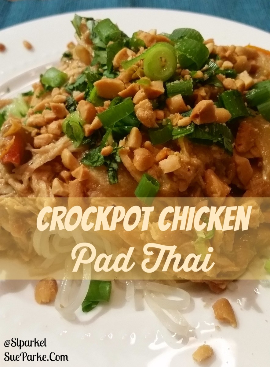 Crockpot Chicken Pad Thai