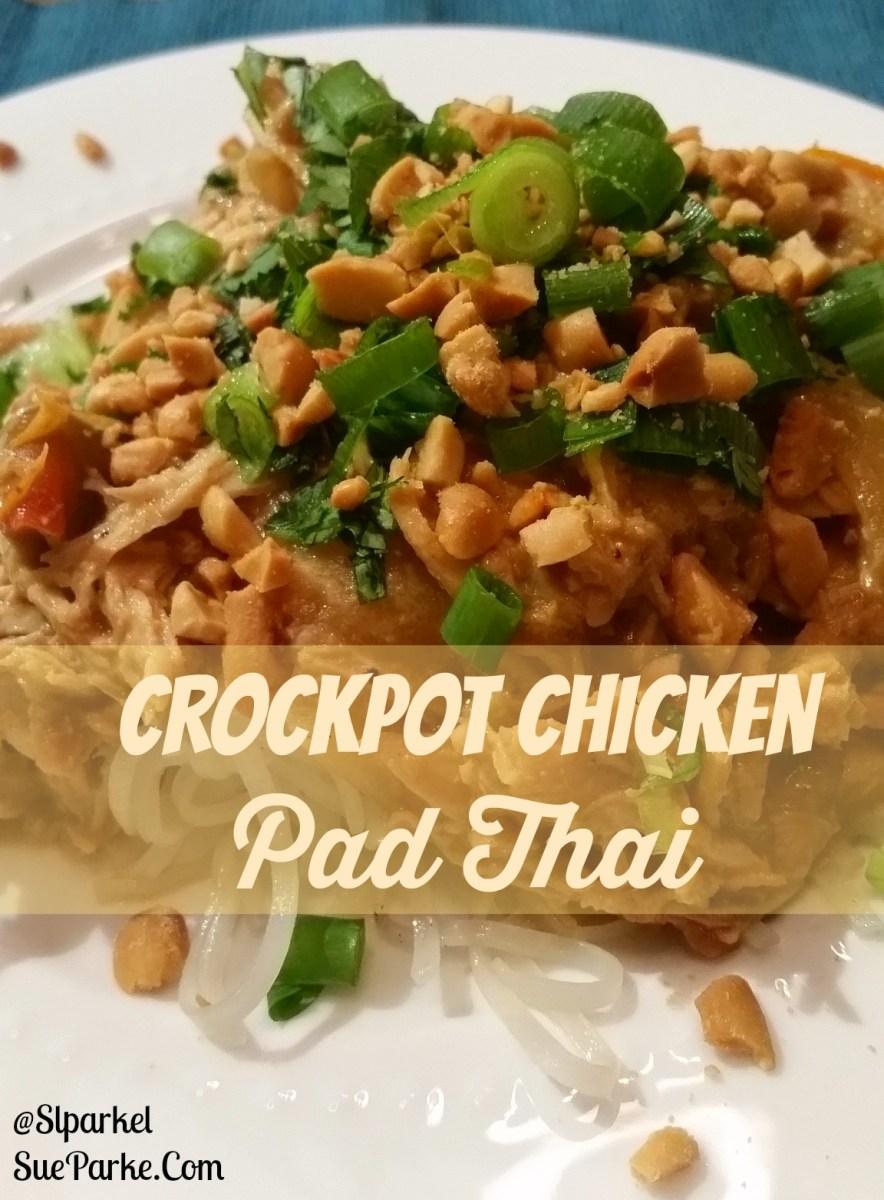Crockpot Chicken Pad Thai