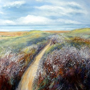 Coastal path giclee print Cornwall