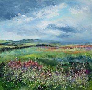 Cornish landscape giclee print