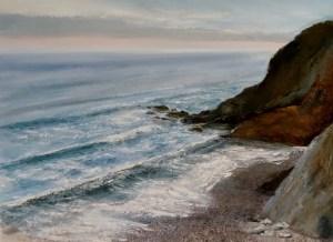 North Cornwall seascape giclee print
