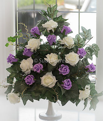 Wedding Table Decoration For Church Or Venue Lilac Ivory Other