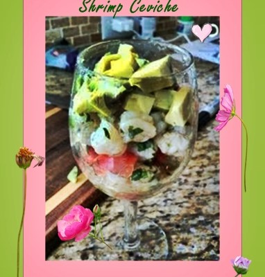 Shrimp Ceviche To Woo Mom by @DaddysinCharge #SundaySupper
