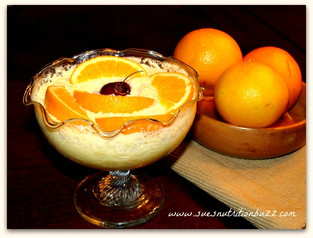 Orange Mousse With Greek Yogurt #CookForJulia #SundaySupper