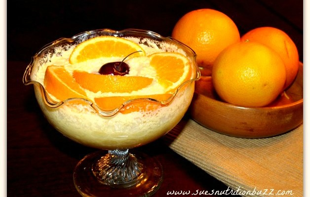 Orange Mousse With Greek Yogurt #CookForJulia #SundaySupper