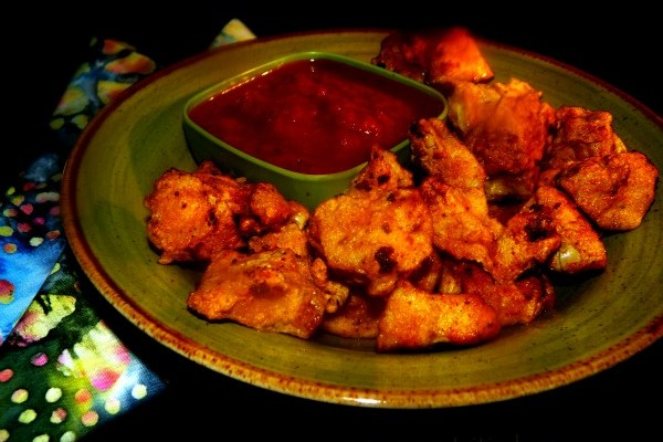 Home Made Chicken Nuggets Spiked With Cumin Curicumin & Flax #GlutenFree