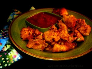 Gluten Free Chicken Nuggets Spiked With Cumin Curicumin & Flax
