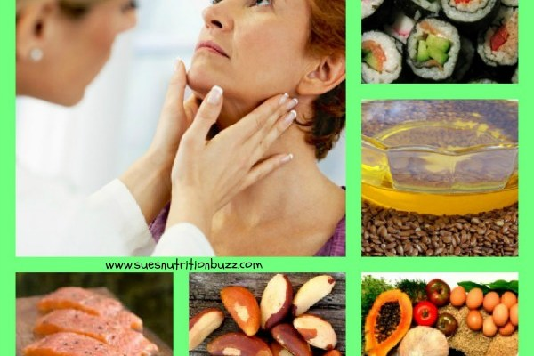 Nutrition To Boost Thyroid Function #ThyroidAwarenessMonth