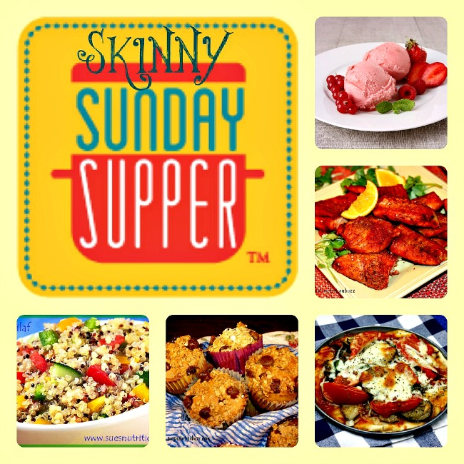 Healthy & Light Recipes For A Skinny #SundaySupper