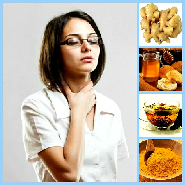 Natural Foods That Ease & Heal A Sore Throat