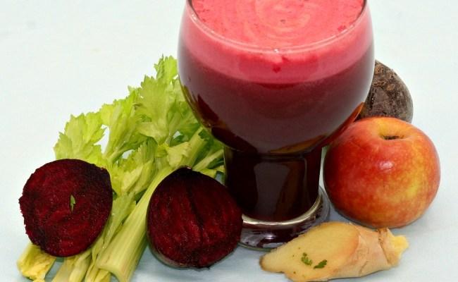 Beet Celery Ginger Apple Juice To Lower Blood Pressure
