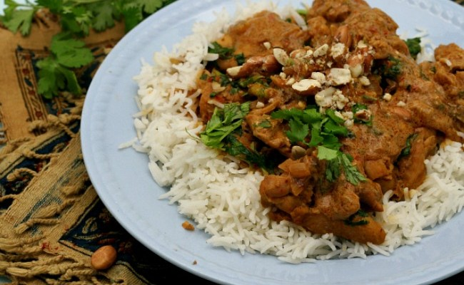 Quick & Easy Thai Panang Chicken with Peanut Butter #WeekdaySupper
