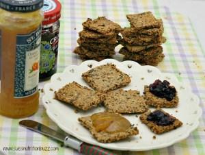 Grain Free Sesame Crackers