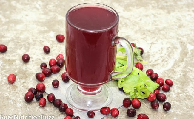 Beat Holiday Bloat with Cran Water