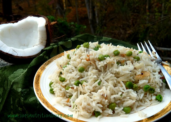 coconut rice pilaf 5