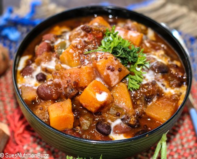 Sweet potato quinoa chili-0357