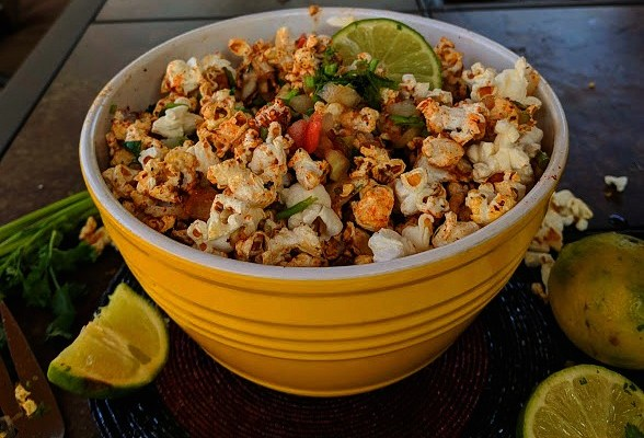 Spicy And  Sweet Popcorn Chaat  To Tickle Your Palate