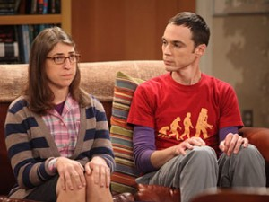 Sheldon and Amy from Big Bang Theory