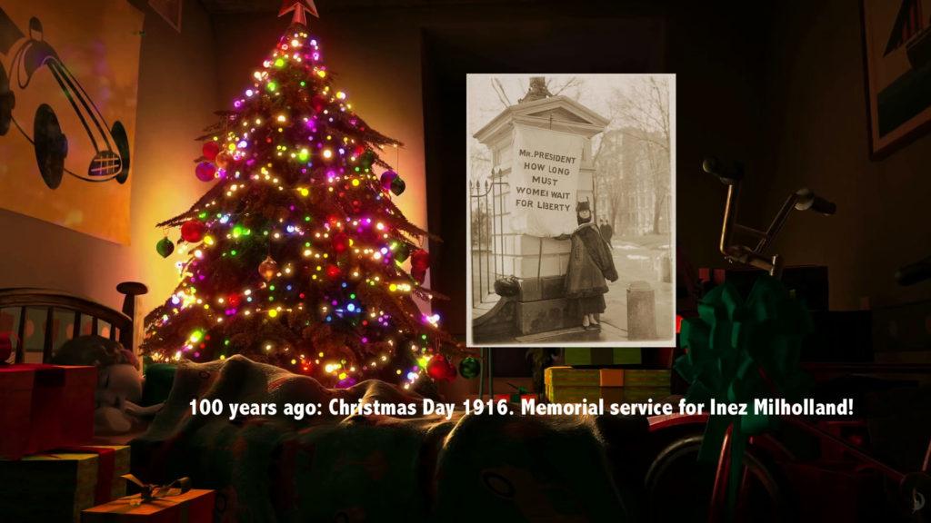 Christmas Day 1916 memorial service