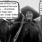 New York State will honor suffrage activists by way of statues on state land!