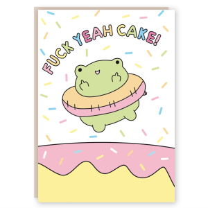 Funny birthday card rude