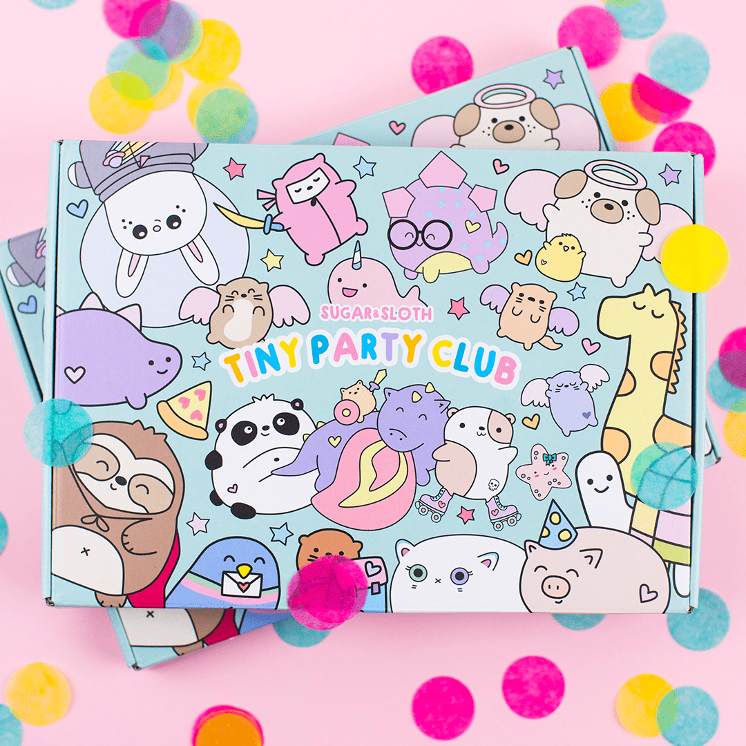 Tiny Party CLub Cute Gift Subscription