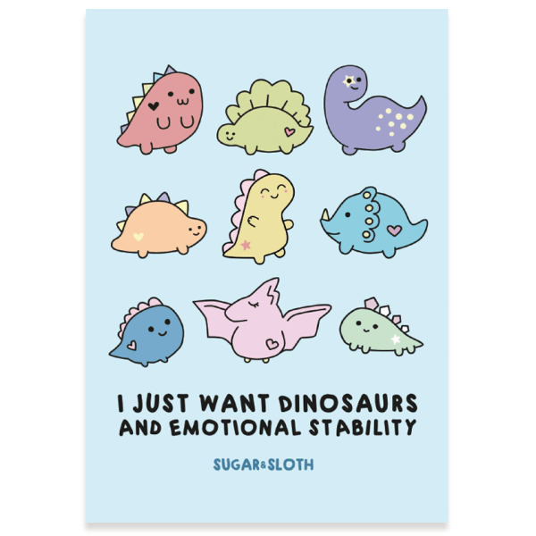 cute funny postcard
