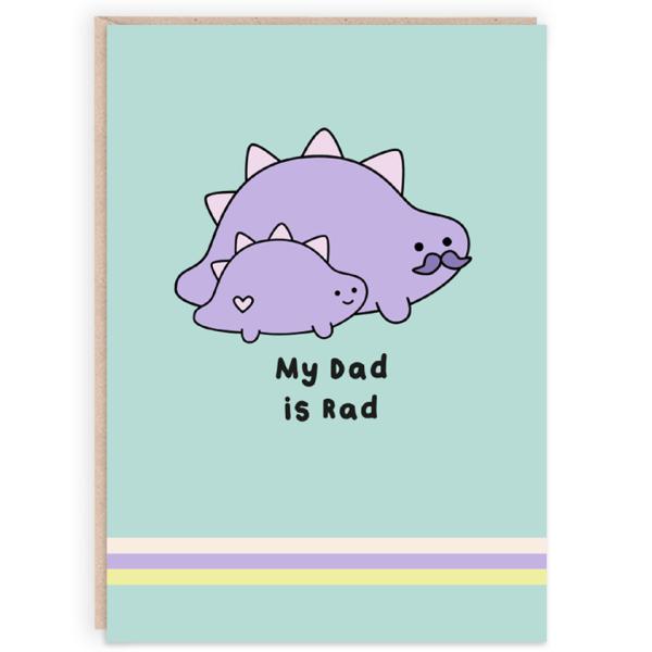 dinosaur card for dad