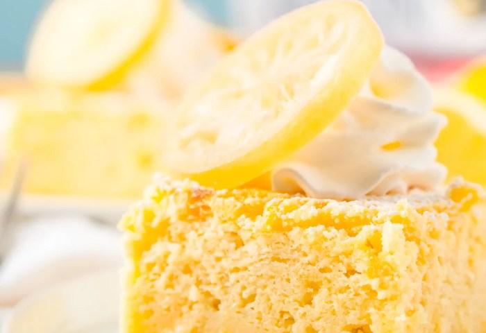 Sansas Lemon Cakes Recipe Sugar And Soul Co