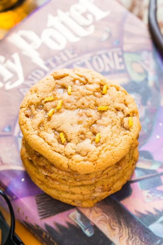 Easy Butterbeer Cookies Recipe