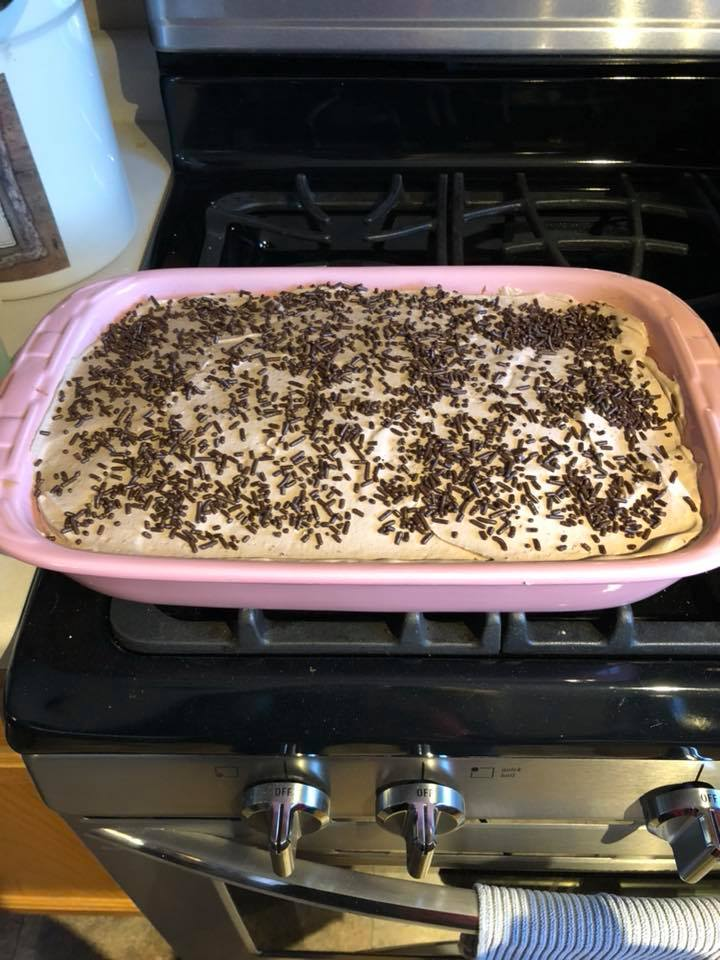 Homemade Kahlua Poke Cake Recipe