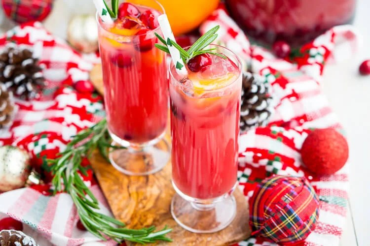 The Best Christmas Punch Recipe!