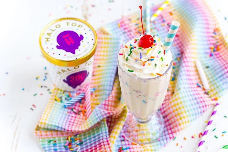 This Birthday Cake Milkshake Is Ready In 5 Minutes And Made With Just Simple Ingredients