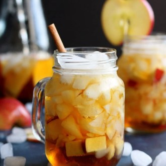 This Apple Pimm's Cup takes a twist on a popular summer cocktail using Fall flavor. This recipe can be easily scaled up to make a few pitchers, enough to serve a whole group of thirsty dinner guests